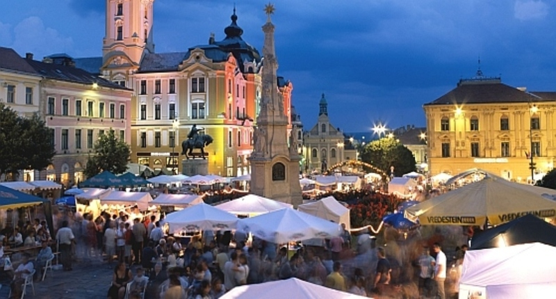 Hungary Wine festival in Pécs
