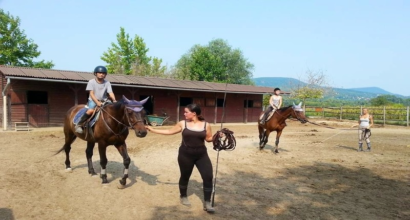 Hungary Horse riding near Budapest