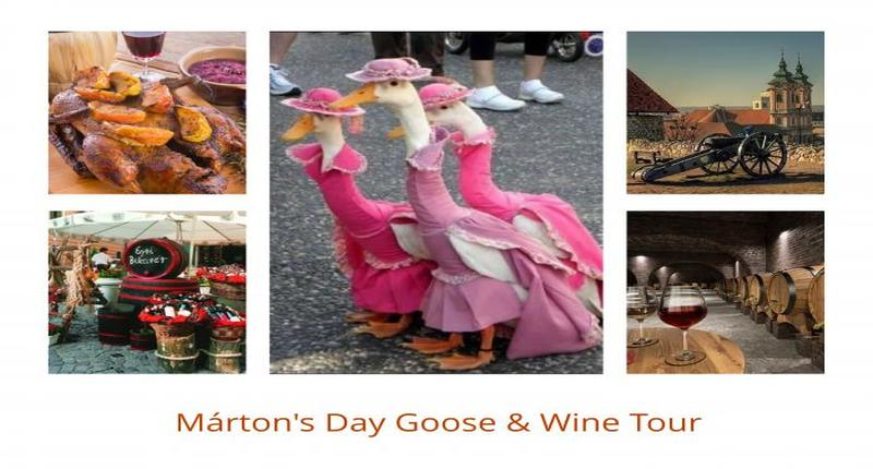 Hungary Marton day's Goose and Wine Festival  in November