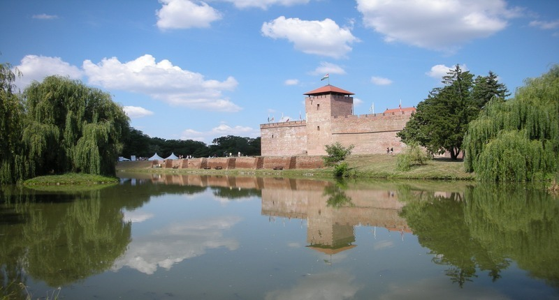 Gyula-castle-lake-hungary